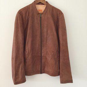 Hugo Boss Orange Jips7 100% Sheepskin Jacket